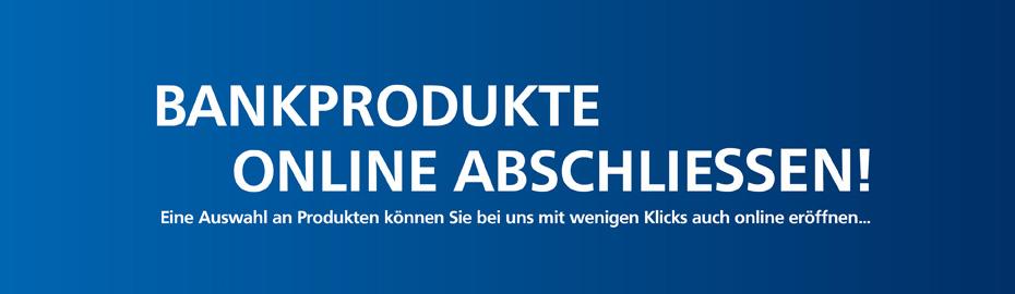Produkte online abschließen