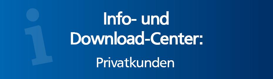 Info-Center Privatkunden